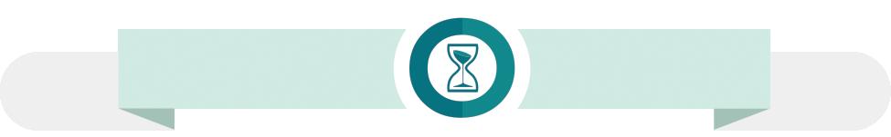 Banner med timeglas