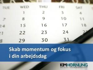 Slide - Skab momentum og fokus