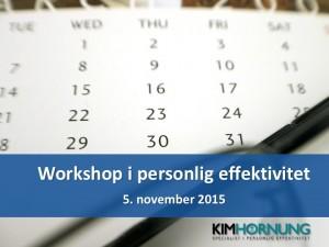 Billede - åben workshop