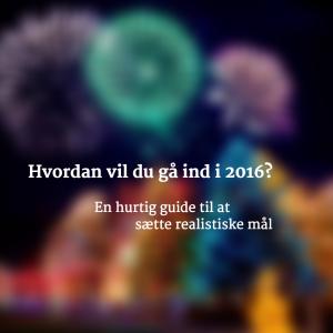 Billede: Hvordan vil du gå ind i 2016?